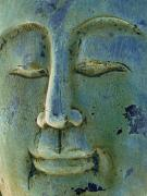 Enlightenment Prints - Calm Buddha Print by Marion McCristall