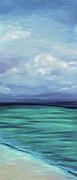 Surf Artist Paintings - Calm Day by Kelly Headrick