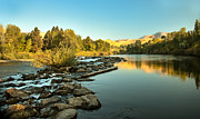 Silk Water Prints - Calm Payette Print by Robert Bales