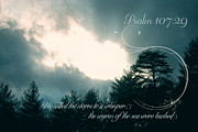 Psalms Photo Posters - Calm the Storm Poster by Lena Auxier