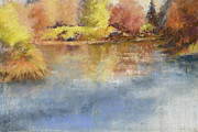 Fall Pastels - Calm Waters by Jo Ann Sullivan