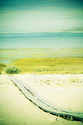 Antelope Island Framed Prints - Calmness Framed Print by Marilyn Hunt