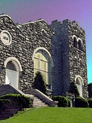 Mt. Airy Framed Prints - Calvary Church Mt Airy Md Framed Print by Darlene Freas