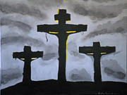 Kate Farrant Art - Calvary by Kate Farrant