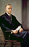 President Of The United States Photos - Calvin Coolidge 1872-1933, U.s by Everett