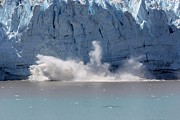 Travel Photography Originals - Calving glacier Alaska by Sophie Vigneault