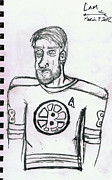 Nhl Drawings Prints - Cam Neely Print by James Renick