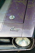Vintage Auto Prints - Camaro SS with hood pin Print by Paul Ward
