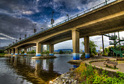 Cambie Bridge Prints - Cambie Bridge Print by Viktor Lakics