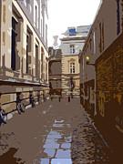 Cambridge Print by Roberto Alamino