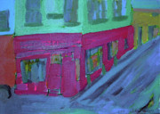 Dublin Painting Originals - Camden Street no 92 Dublin City by Deirdre Eustace