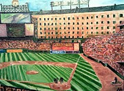 Ballpark Paintings - Camden Yards by Andrew Hench