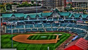 Baseball Fields Art - Camden Yards Camden NJ by Melvin Coleman