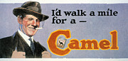 Camel Photos - CAMEL BILLBOARD, c1923-27 by Granger