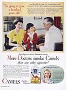 Camel Photos - Camel Cigarette Ad, 1946 by Granger