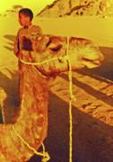Camel Ride Print by Elizabeth Hoskinson