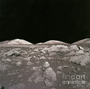 Camelot Photo Prints - Camelot Crater On Moon, Apollo 17 Print by Science Source