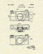 Photography Drawings - Camera 1940 Patent Art by Prior Art Design