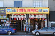 Express Photos - Camera Express Store at Fishermans Wharf . San Francisco California . 7D14096 by Wingsdomain Art and Photography