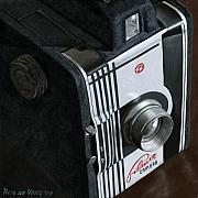 Photorealism Painting Posters - Camera Poster by Rob De Vries