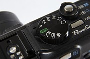 Option Prints - Camera Settings Dial Print by Johnny Greig