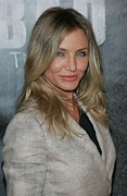At A Public Appearance Metal Prints - Cameron Diaz At A Public Appearance Metal Print by Everett