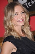 Diaz Framed Prints - Cameron Diaz At Arrivals For Bad Framed Print by Everett