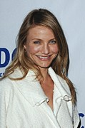 Natural Makeup Posters - Cameron Diaz At Arrivals For National Poster by Everett