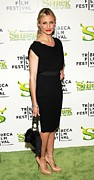 Little Black Dress Prints - Cameron Diaz  At Arrivals For Shrek Print by Everett