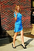 The Late Show With David Letterman Posters - Cameron Diaz At Talk Show Appearance Poster by Everett