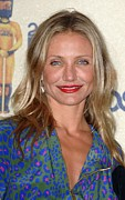 Diaz Photos - Cameron Diaz In The Press Room For 2009 by Everett