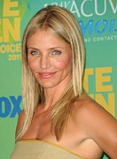 Teen Choice Awards Prints - Cameron Diaz In The Press Room For 2011 Print by Everett