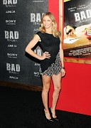 Minidress Framed Prints - Cameron Diaz Wearing A Chanel Dress Framed Print by Everett