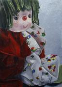 Doll Paintings - Camijocamillecalokado by Jane Autry