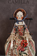 Doll Sculpture Framed Prints - Camilla Framed Print by Vita Soyka