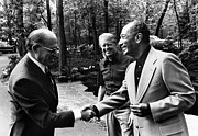 Carter Art - Camp David Summit, 1978 by Granger