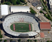 Badgers Prints - Camp Randall Stadium Print by Bill Lang