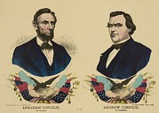 Abolition Art - Campaign Banner For The Republican by Everett
