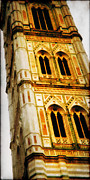 Di Digital Art - Campanile di Giotto by Li   van Saathoff