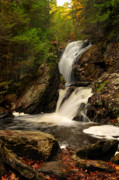 Ethereal Water Prints - Campbells Falls Print by Thomas Schoeller