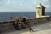 Canons Prints - Campeche Cannon Mexico Print by John  Mitchell