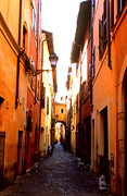 Kathy Yates Photography Prints - Campo de Fiori Alley Print by Kathy Yates