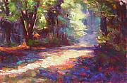 Pathway Pastels - Campsite Path 2 by Mary McInnis