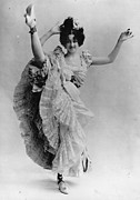 Evening Gown Photos - Can-can Dancer by Hulton Collection