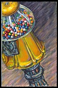 Candy Paintings - Can I Have a Penny Please by Jami Childers