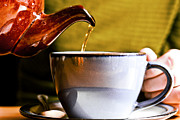 Coffee Drinking Prints - Can I Pour You A Cup Print by Christopher Kulfan