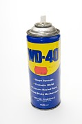 Can Prints - Can Of Wd-40 Oil Print by Photostock-israel