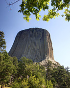 Black Lodge Originals - Can You Find the Climbers on Devils Tower Wyoming -1 by Paul Cannon