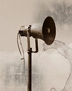 Communication Digital Art Prints - Can you hear me.... Print by Sharon Lisa Clarke
