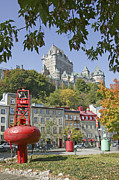 Peter L Wyatt Art - Canada - Quebec City by Peter L Wyatt